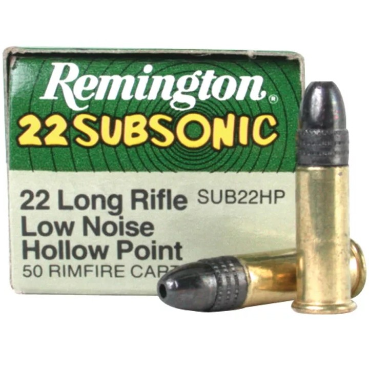 Remington 22 Subsonic 22 Long Rifle 100rd Ammo