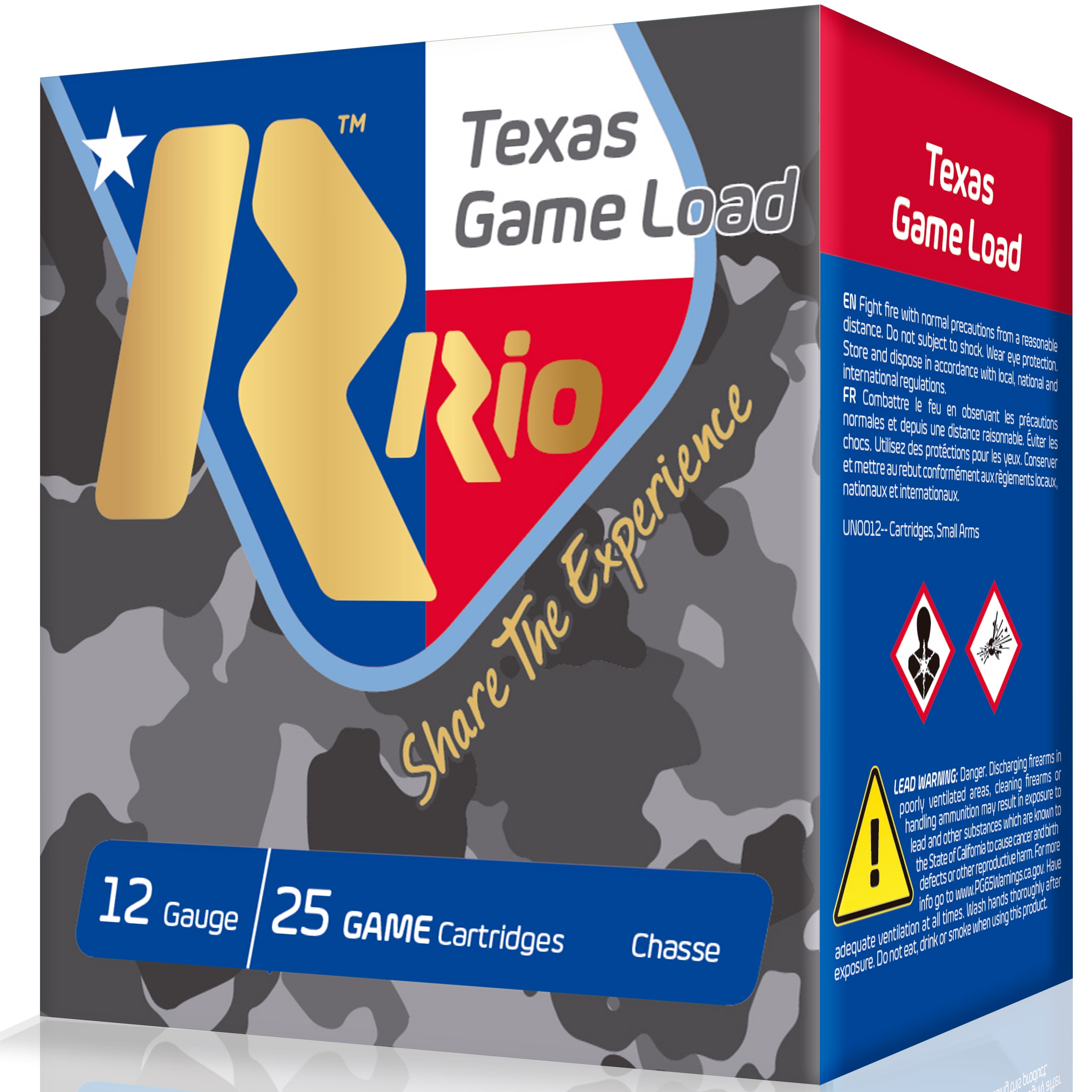Rio Texas Game Load Hi Velocity 12 Gauge 7.5 Shot 25rd Ammo