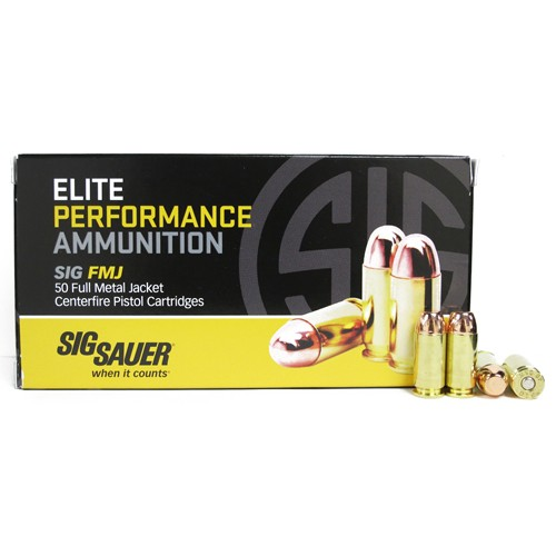 Sig Sauer Practice 40 Smith & Wesson 50rd Ammo