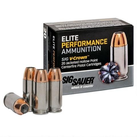 Sig Sauer Defensive 45 ACP 50rd Ammo
