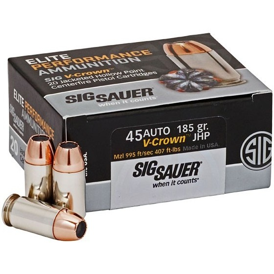 Sig Sauer Defensive 40 Smith & Wesson 50rd Ammo