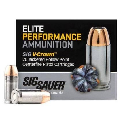 Sig Sauer Defensive 9mm Luger 20rd Ammo