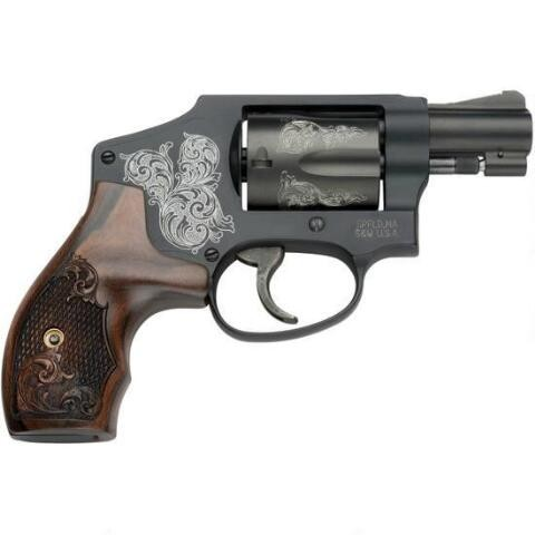 Smith & Wesson Model 442 Engraved 38 Special