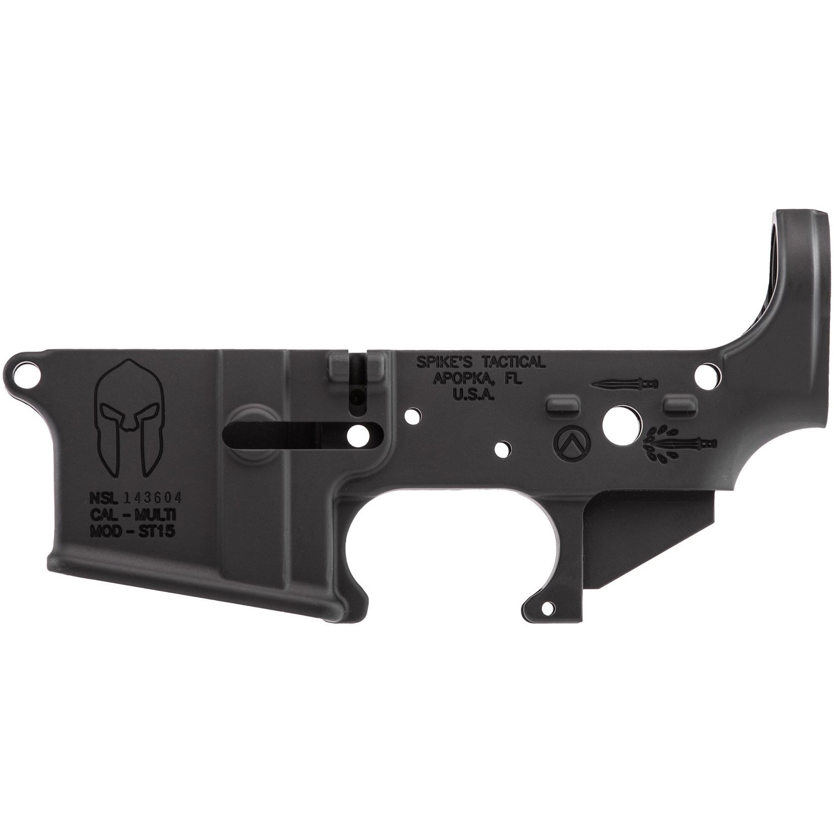 Spike's Tactical Spartan Stripped Lower Receiver