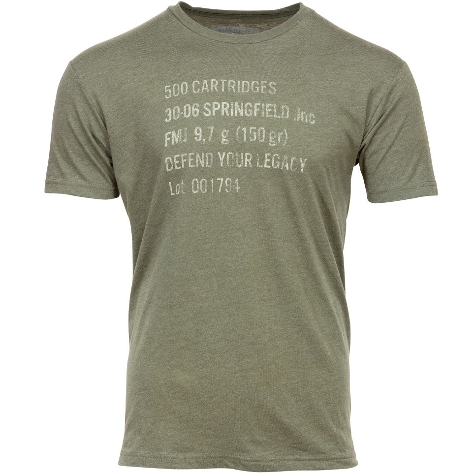 Springfield Jersey Ammo Can T-Shirt