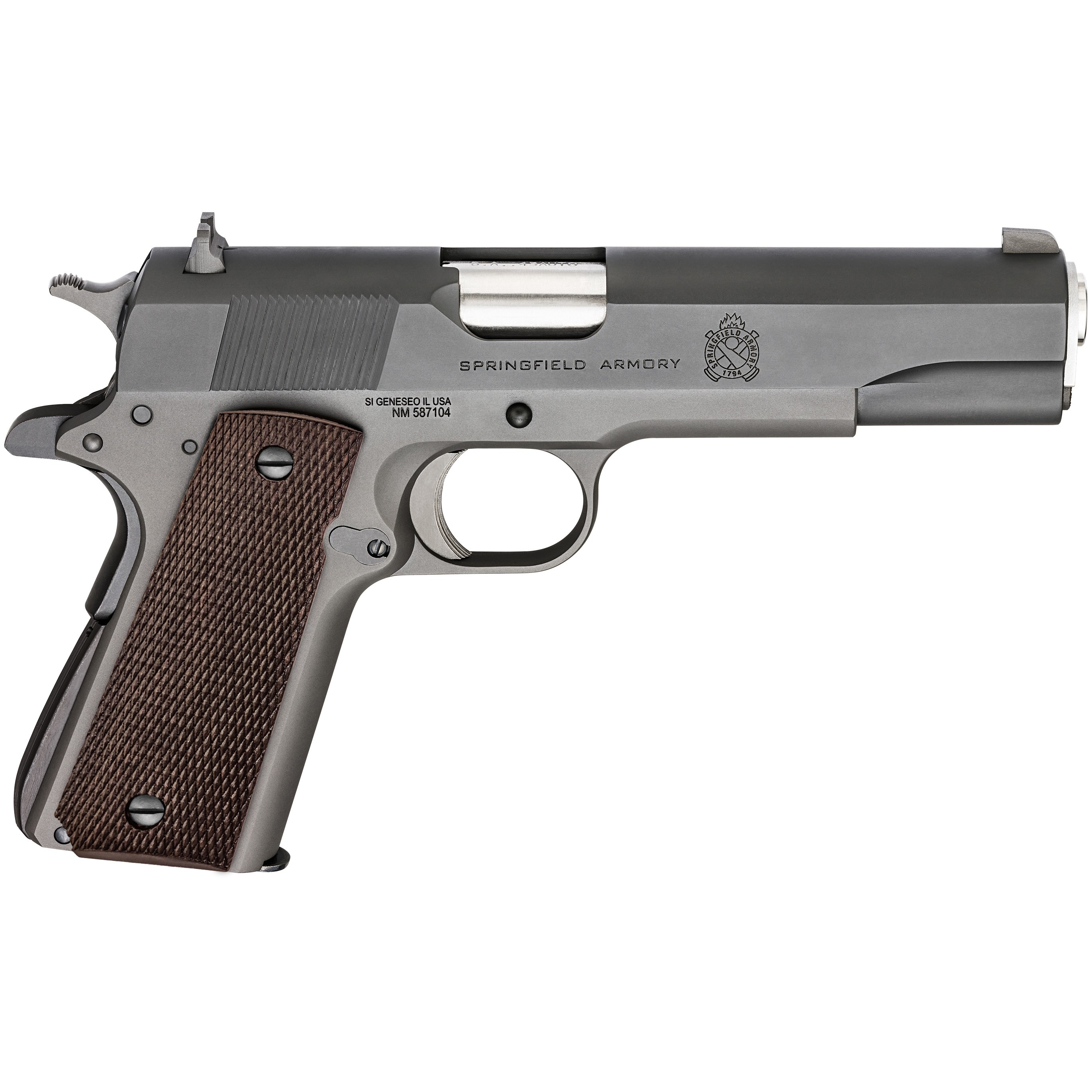 Springfield 1911 Mil-Spec - Defend Your Legacy 45 ACP
