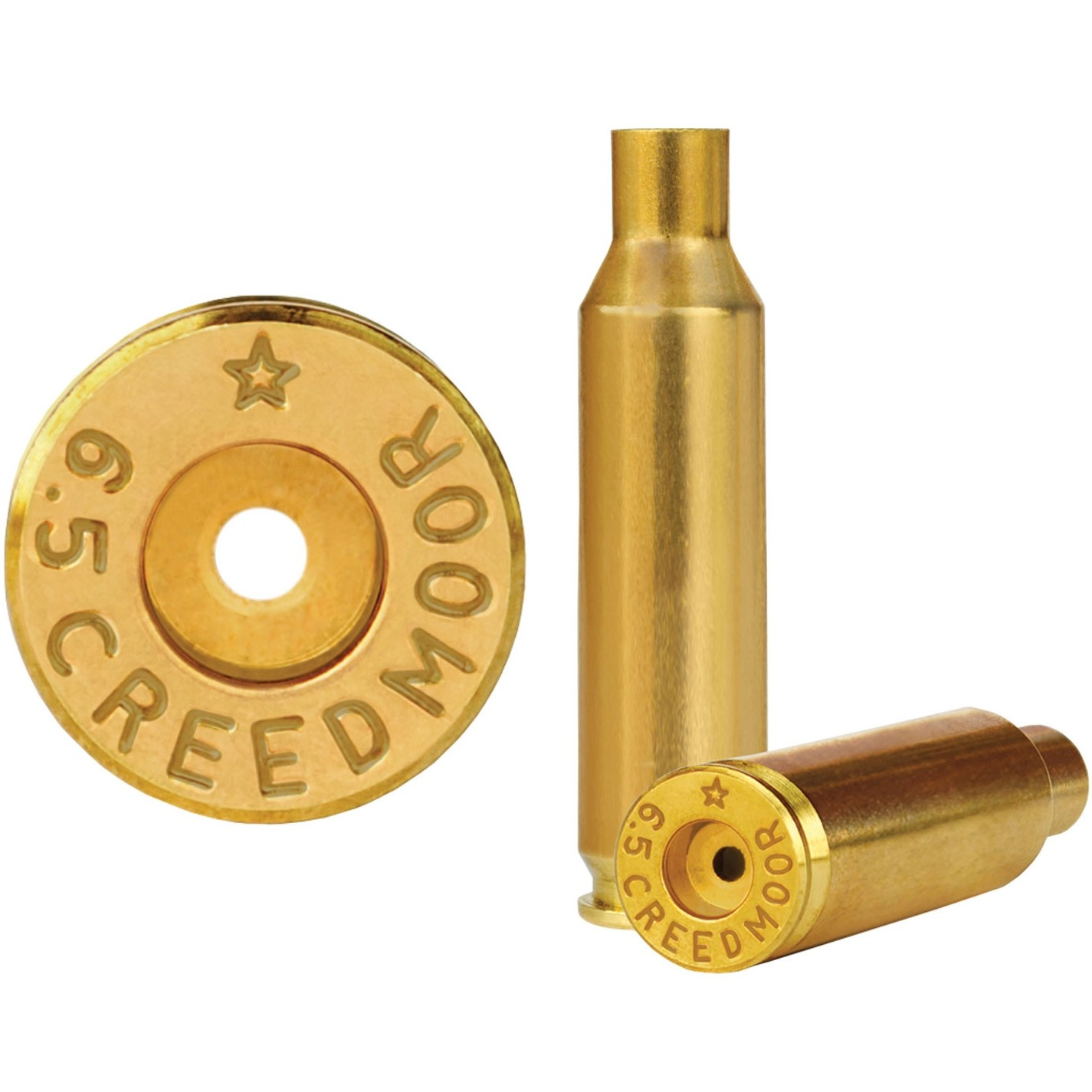 Starline 6.5 Creedmoor Unprimed 100rd Brass