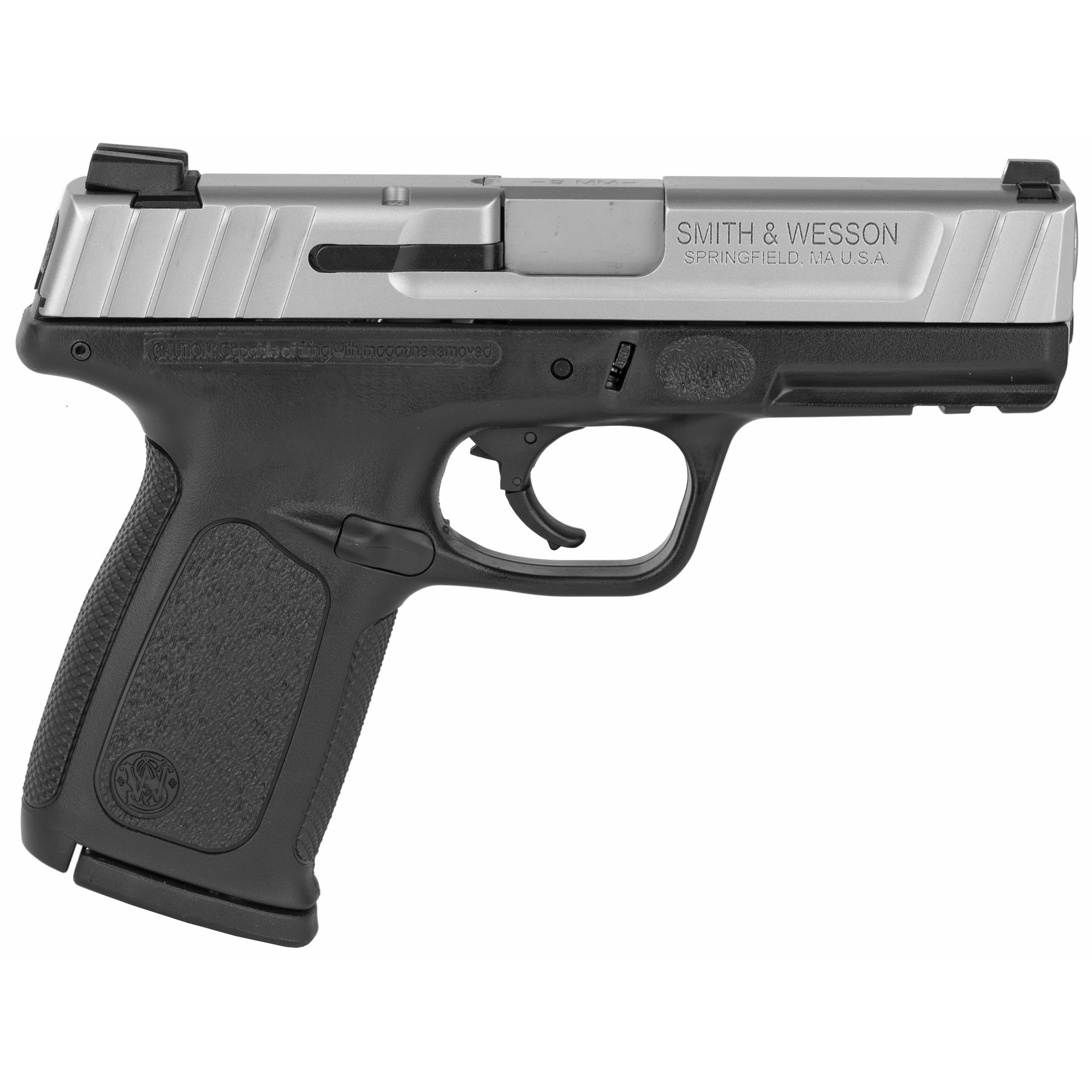 Smith & Wesson SD VE No Thumb Safety 9mm Luger Pistol