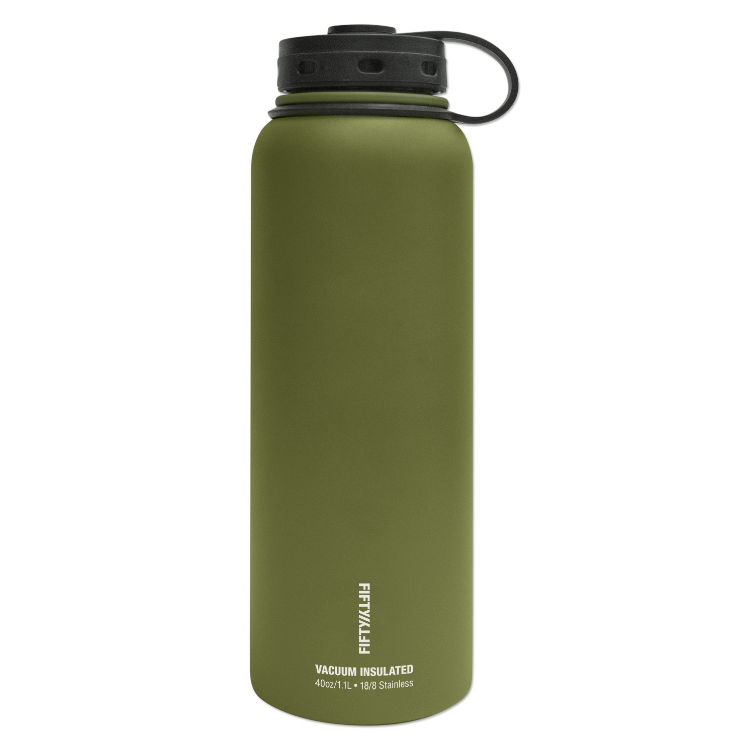 Fifty Fifty 40oz Double-Wall Vacuum-Insulated Water Bottle