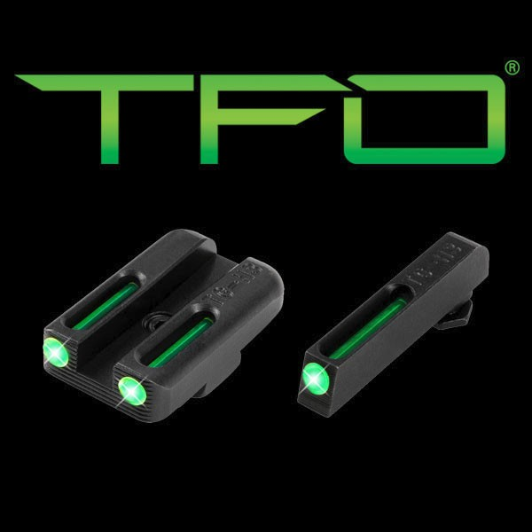 Truglo TFO Tritium / Fiber Optic Handgun Day / Night Sights