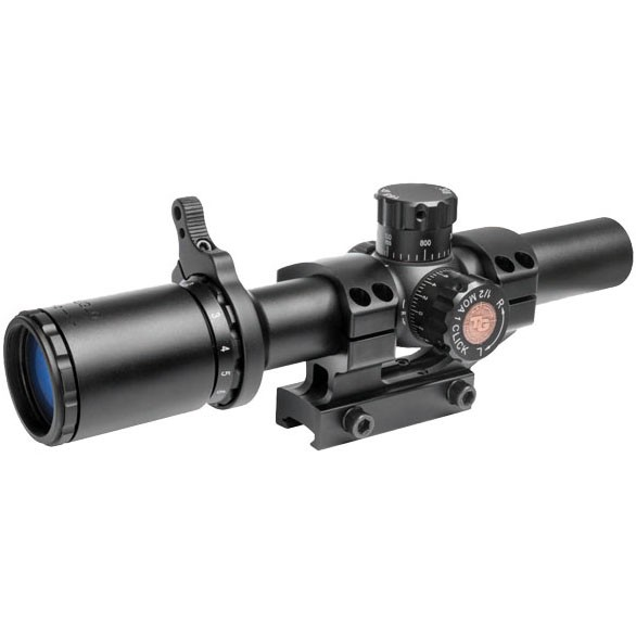Truglo 1-6x24 Tru-Brite Tactical 30mm Riflescope