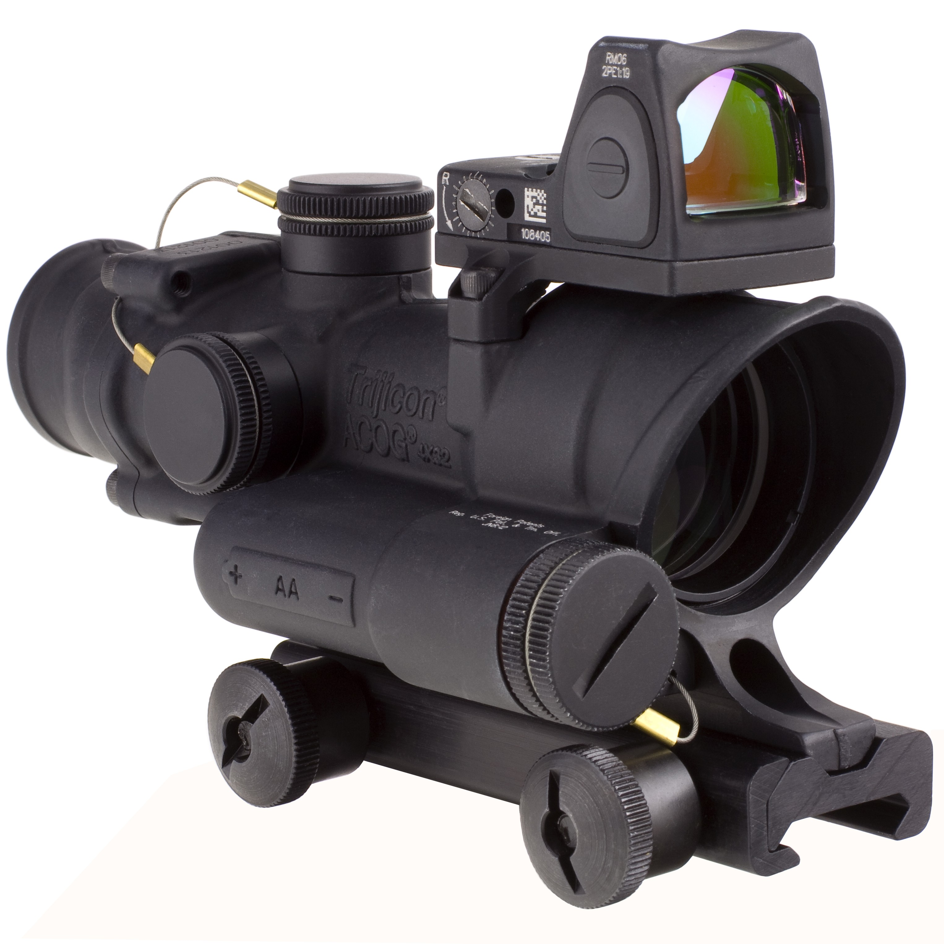 Trijicon 4x32 LED Battery Acog Rifle Scope