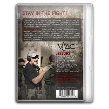 "Troy VTAC Instructional DVD ""Rifle Drills Part 1"""