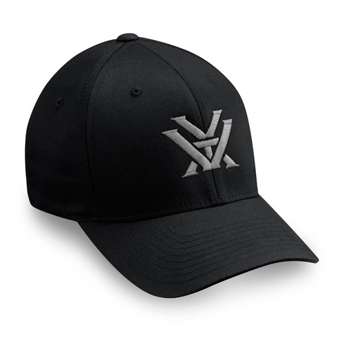 Vortex Grey Logo Flex Fit Cap