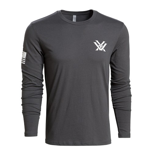 Vortex Optics Grey Patriot Long Sleeve