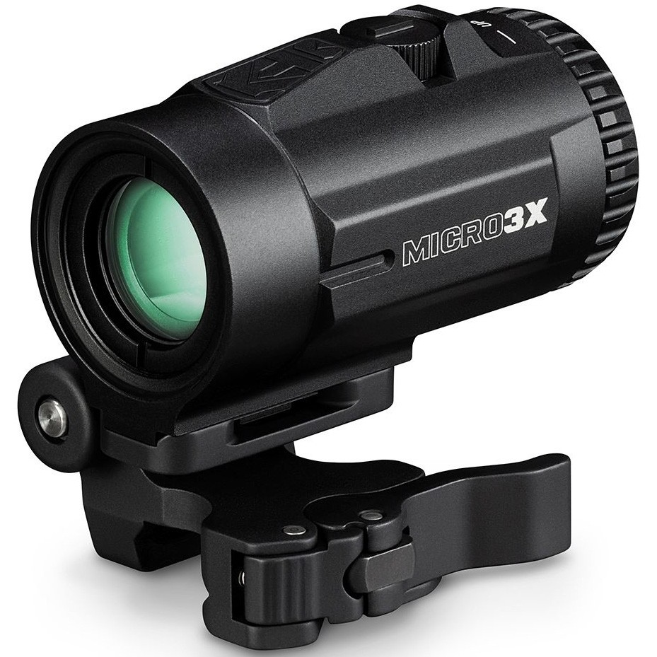 Vortex 3x Micro Magnifier with Flip Mount