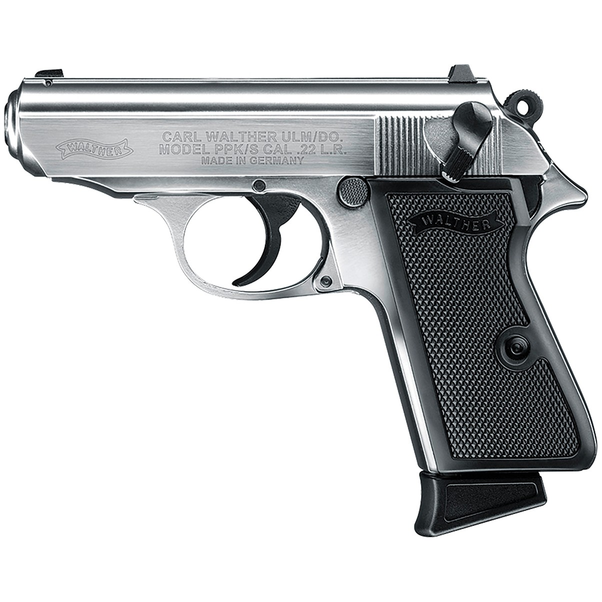 Walther PPK/S Nickel 22 Long Rifle Pistol