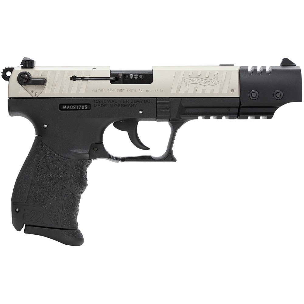 Buy Walther P22 Target 22 Long Rifles at SWFA.com