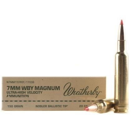buy weatherby select plus 7mm weatherby magnum 20rd ammos at swfa com