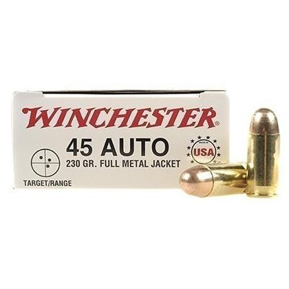 Winchester USA 45 ACP 50rd Ammo