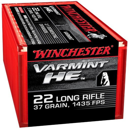 Winchester Varmint HE 22 Long Rifle 50rd Ammo