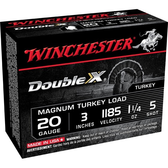 Winchester Double X 20 Gauge 5 Shot 10rd Ammo