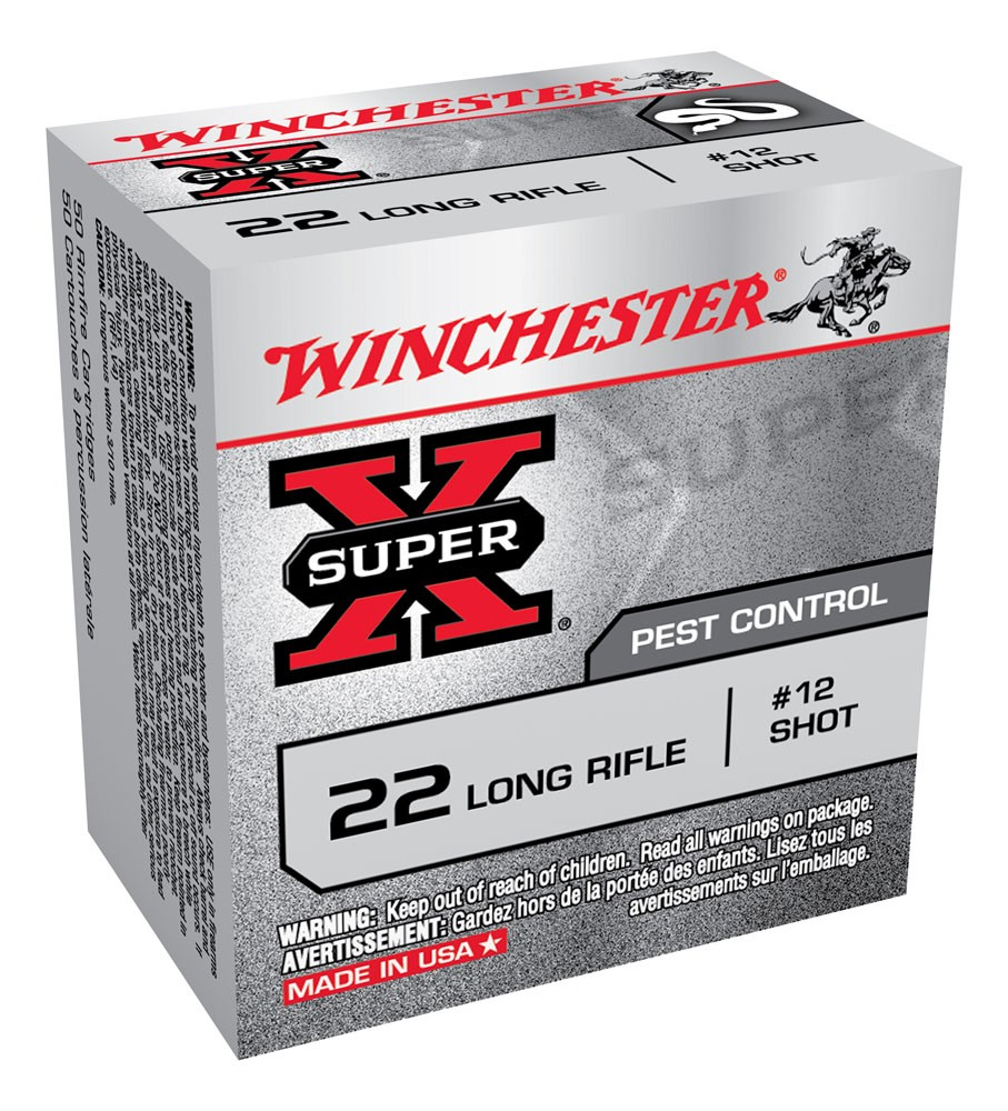 Winchester Super X 22 Long Rifle Shotshell 50rd Ammo