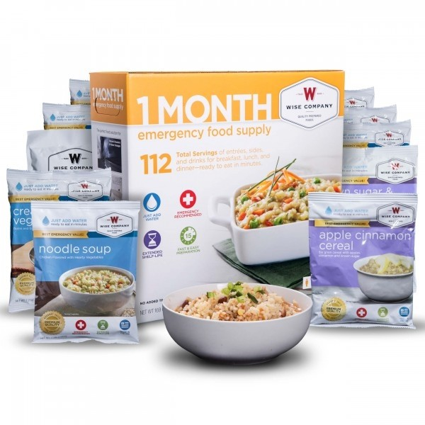 Wise Foods 1-Month Emergency Supply