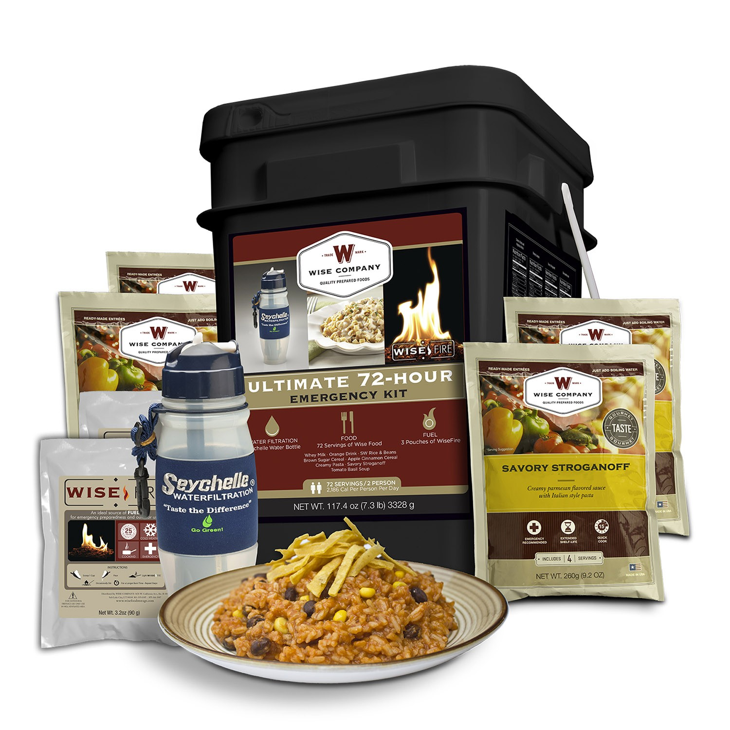Wise Foods Ultimate 72-Hour Emergency Kit