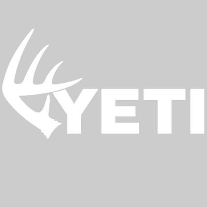 YETI Whitetail Shed Window Decal