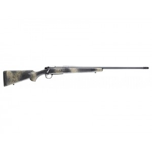 "Bergara Rifles B-14 Ridge Wilderness 6.5 Creedmoor 4+1 18"" Woodland Camo w/Soft Touch Fixed American Style Stock Matte Blued Right Hand"
