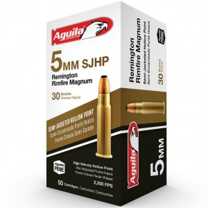 Aguila 5mm Remington Rimfire Magnum 50rd Ammo