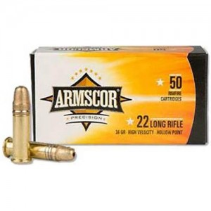 Armscor Precision 22 Long Rifle 50rd Ammo