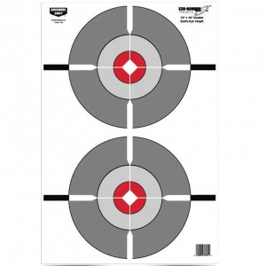 "Birchwood Casey Eze-Scorer 12"" x 18"" Double Bull's-Eye"