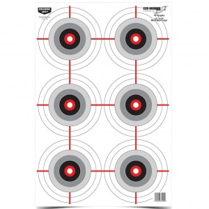 "Birchwood Casey Eze-Scorer 12"" x 18"" Multiple Bull's-Eye"