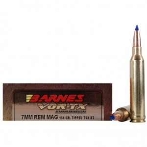 Barnes VOR-TX 7mm Remington Magnum 20rd Ammo