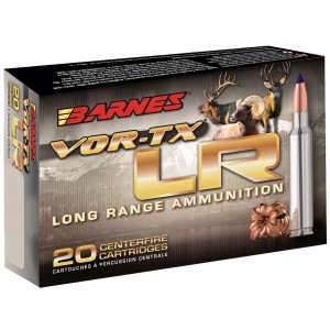 Barnes VOR-TX LR 7mm Remington Ultra Magnum 20rd Ammo