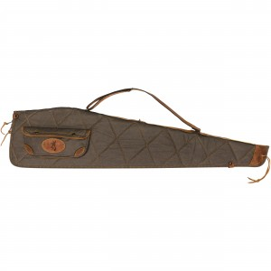 """Browning 48"""" Lona Canvas/Leather Rifle Case"""