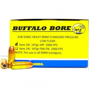 Buffalo Bore Handgun 9mm Luger 20rd Ammo