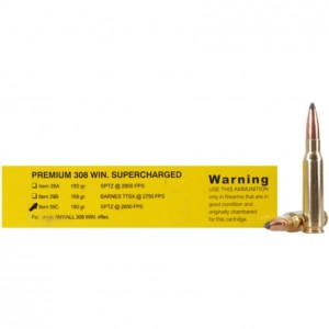 Buffalo Bore Rifle 308 Winchester 20rd Ammo