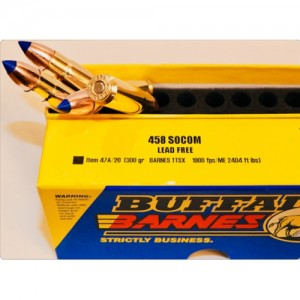 Buffalo Bore Rifle 458 Socom 20rd Ammo