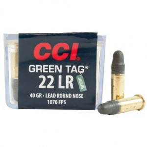 CCI Green Tag 22 Long Rifle 100rd Ammo