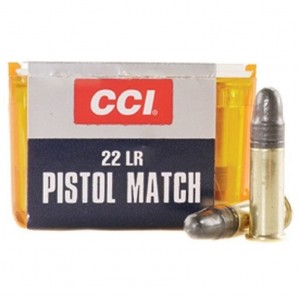CCI Pistol Match 22 Long Rifle 50rd Ammo