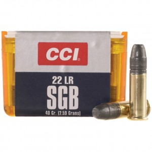 CCI SGB 22 Long Rifle 50rd Ammo