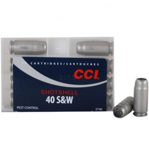 CCI Shotshell 40 Smith & Wesson 9 Shot 10rd Ammo