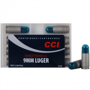 CCI Shotshell 9mm Luger 12 Shot 10rd Ammo