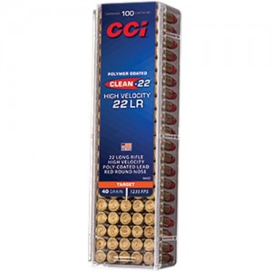 CCI Clean-22 High Velocity 22 Long Rifle 100rd Ammo