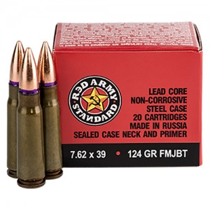 Red Army Standard 7.62x39 20rd Ammo