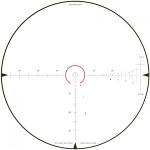 Leatherwood 1-4x24 CMR1 30mm Rifle Scope