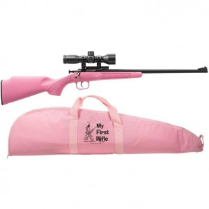 Crickett Synthetic 22 Long Rifle Package